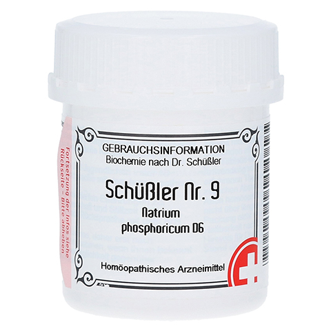 SCHÜSSLER Nr.9 Natrium phosphoricum D 6 Tabletten 400 Stück