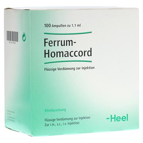FERRUM HOMACCORD Ampullen 100 Stück N3
