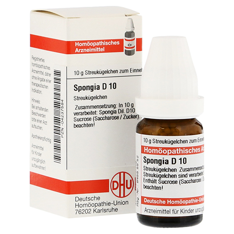SPONGIA D 10 Globuli 10 Gramm N1