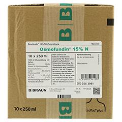 OSMOFUNDIN 15% N Ecoflac Pl. Infusionslösung 10x250 Milliliter N2 - Vorderseite