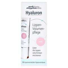HYALURON Lippen-Volumenpflege Balsam 7 Milliliter - Vorderseite