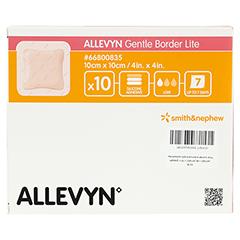 ALLEVYN Gentle Border Lite 10x10 cm Schaumverb. 10 Stück - Vorderseite