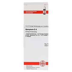 APOCYNUM D 4 Dilution 50 Milliliter N1 - Vorderseite