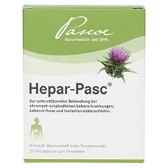 Hepar-Pasc 20 Stück - Vorderseite
