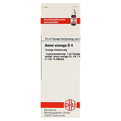 AMMI VISNAGA D 4 Dilution 20 Milliliter N1 - Vorderseite
