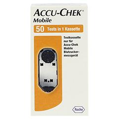 ACCU CHEK Mobile Testkassette 50 Stück - Vorderseite