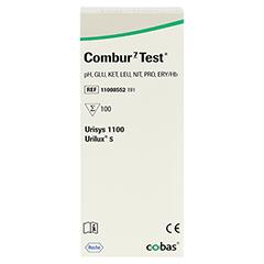 COMBUR 7 Test Teststreifen 100 Stück - Vorderseite