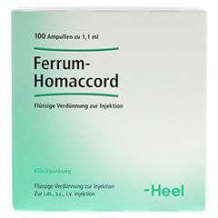 FERRUM HOMACCORD Ampullen 100 Stück N3 - Vorderseite