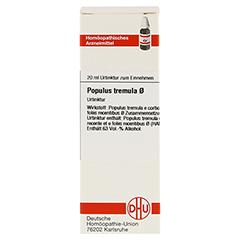 POPULUS TREMULA Urtinktur 20 Milliliter N1 - Vorderseite