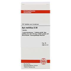 APIS MELLIFICA D 30 Tabletten 200 Stück - Vorderseite