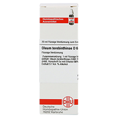 OLEUM TEREBINTHINAE D 6 Dilution 20 Milliliter N1 - Vorderseite