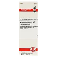 VIBURNUM OPULUS D 3 Dilution 20 Milliliter N1 - Vorderseite