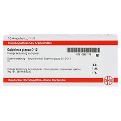 GALPHIMIA GLAUCA D 12 Ampullen 10x1 Milliliter N1 - Vorderseite