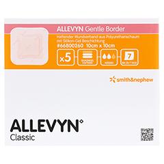 ALLEVYN Gentle Border 10x10 cm Schaumverb. 5 Stück - Vorderseite