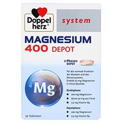 DOPPELHERZ Magnesium 400 Depot system Tabletten 30 Stück - Vorderseite