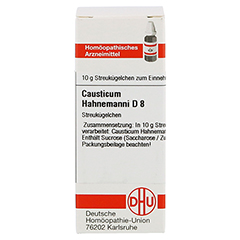 CAUSTICUM HAHNEMANNI D 8 Globuli 10 Gramm N1 - Vorderseite