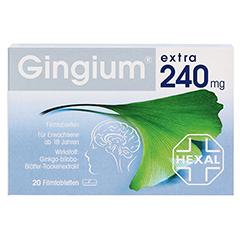 Gingium extra 240mg 20 Stück - Vorderseite