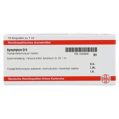 SYMPHYTUM D 6 Ampullen 10x1 Milliliter N1 - Vorderseite