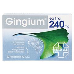 Gingium extra 240mg 60 Stück N2 - Vorderseite