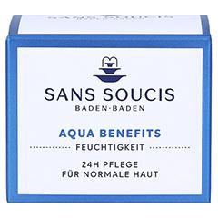 SANS SOUCIS MOISTURE Aqua Benefits 24h Pflege 50 Milliliter - Vorderseite