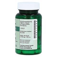 MSM 500 mg Kapseln 60 Stück - Linke Seite