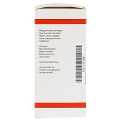 STIBIUM SULFURATUM NIGRUM D 8 Tabletten 200 Stück N2 - Linke Seite