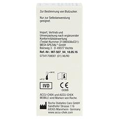 ACCU CHEK Mobile Testkassette 50 Stück - Linke Seite