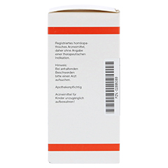 CALCIUM SULFURICUM D 4 Tabletten 200 Stück N2 - Linke Seite