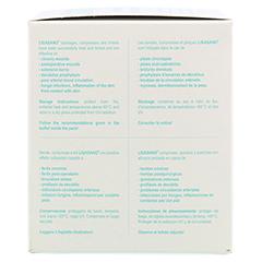 LIGASANO weiß Kompressen rund 1x5 cm steril 10 Stück - Linke Seite