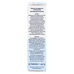 DOPPELHERZ Magnesium 400 Depot system Tabletten 30 Stück - Rechte Seite