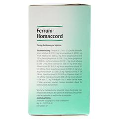 FERRUM HOMACCORD Ampullen 100 Stück N3 - Rechte Seite
