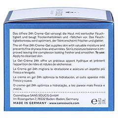 SANS SOUCIS MOISTURE Aqua Benefits 24h Feuchtigkeits-Creme-Gel 50 Milliliter - Rechte Seite
