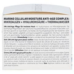 SANS SOUCIS MOISTURE ANTI-AGE 24h Pflege für trockene Haut 50 Milliliter - Rechte Seite
