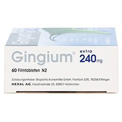 Gingium extra 240mg 60 Stück N2 - Rechte Seite