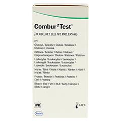 COMBUR 7 Test Teststreifen 100 Stück - Rückseite