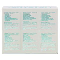 LIGASANO weiß Kompressen rund 1x5 cm steril 10 Stück - Rückseite