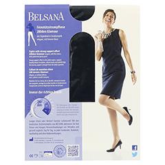 BELSANA glamour 280den AT kurz S nachtbl.m.Sp. 1 Stück - Rückseite