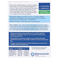 DOPPELHERZ Magnesium+B Vitamine DIRECT Pellets 40 Stück - Rückseite