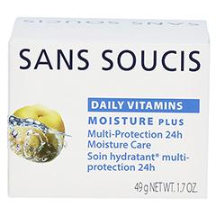 SANS SOUCIS DAILY VITAMINS Moisture Plus Multi-Schutz 24h Feuchtigkeitspflege 50 Milliliter - Rückseite