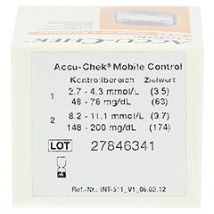 ACCU CHEK Mobile Testkassette 50 Stück - Oberseite