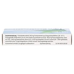 Gingium extra 240mg 20 Stück - Unterseite