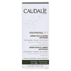 CAUDALIE PC15 Anti-Falten Augen- und Lippencreme 15 Milliliter - Rückseite