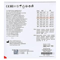 STÜLPA Rolle 3 R 8 cmx15 m Fuß/Arm/K.Kopf 1 Stück - Rückseite