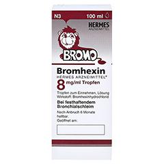 Bromhexin Hermes Arzneimittel 8mg/ml 100 Milliliter N3 - Vorderseite