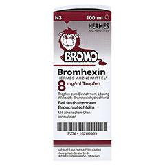 Bromhexin Hermes Arzneimittel 8mg/ml 100 Milliliter N3 - Rechte Seite
