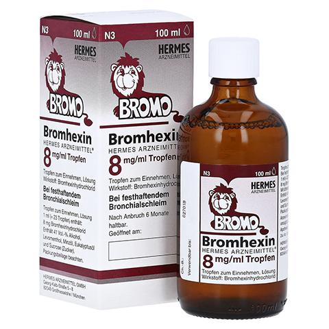 Bromhexin Hermes Arzneimittel 8mg/ml 100 Milliliter N3
