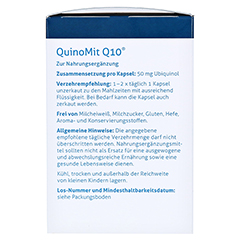Quinomit Q10 Kapseln 60 Stück - Rechte Seite