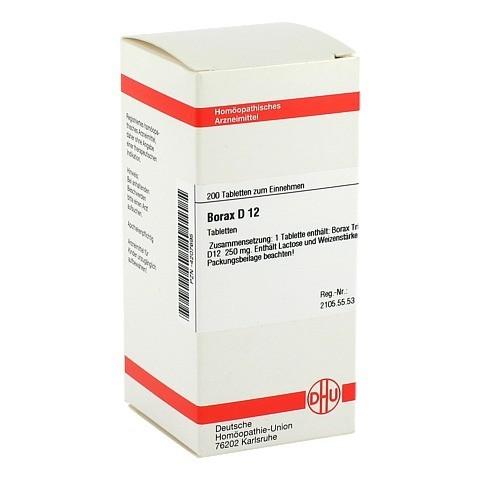 BORAX D 12 Tabletten 200 St�ck N2