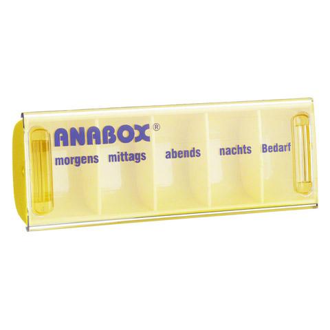 ANABOX Tagesbox gelb 1 St�ck