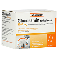 Glucosamin-ratiopharm 30 Stück